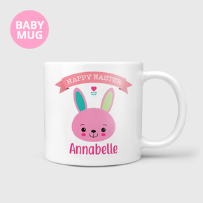 Happy Easter Bunny Kids Baby Girls Mug