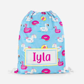 Flamingo Swimming Pe Bag
