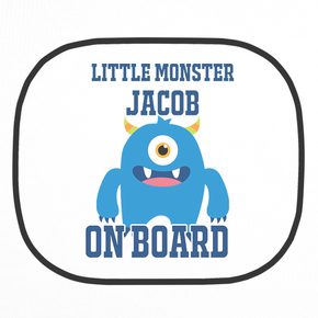 Personalised Monster Car Shade