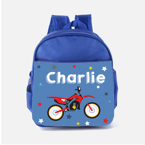 Motorbike Moto GP Backpack