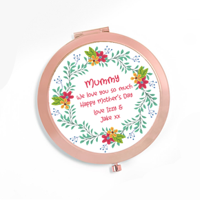 Personalised Compact Mirror Mummy