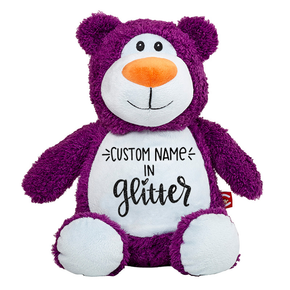 Clearance Purple Teddy Bear