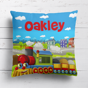 Choo Choo Train Cushion