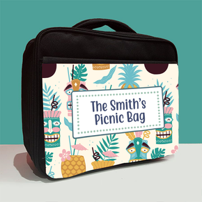 Personalised Hawaii Family Picnic Lunch Bag