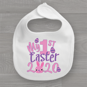 My First Easter 2020 Girls Bib