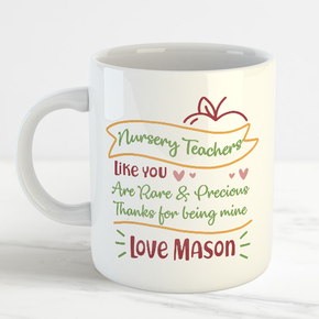 Nursery Teacher Mug