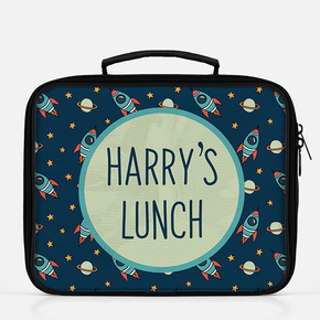 Rocket Ship Lunch Bag