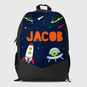 Space Ship Rockets Backpack
