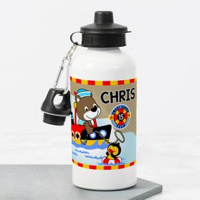 Teddy Bear Coastguard Bottle