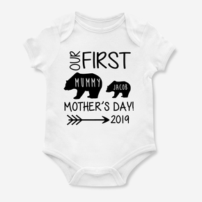 Bear Our First Mother's Day Bodysuit