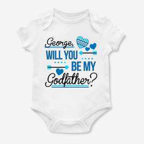 Will You Be My Godfather Bodysuit