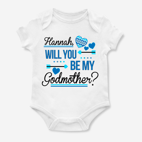 Will You Be My Godmother Bodysuit
