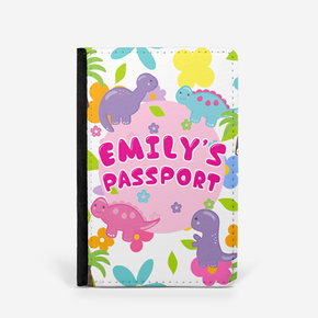 Colourful Dinosaurs Passport