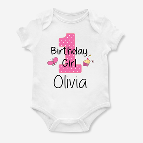 First Birthday Girl Bodysuit