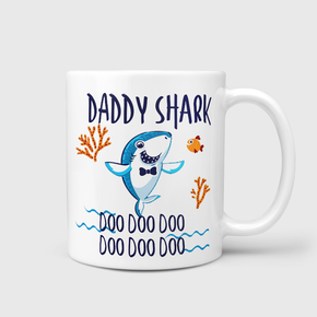Daddy Shark Doo Doo Mug