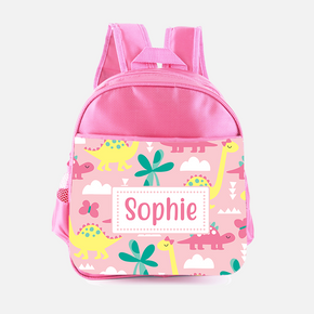 Dinosaurs Pink Backpack