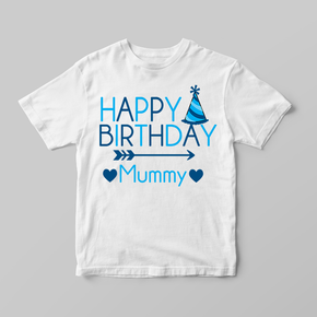 Happy Birthday Mummy T-Shirt