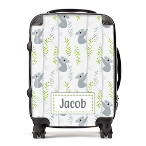 Personalised Koala Kids Children's Luggage Cabin Suitcase