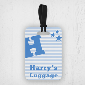 Boy's Luggage Tag