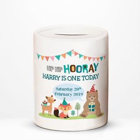 First Birthday Money Box