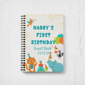 First Birthday Guestbook