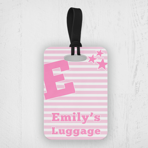 Girl's Luggage Tag
