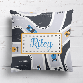 Racing Track Cushion