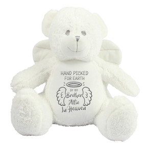Personalised Angel Memorial Bear Brother