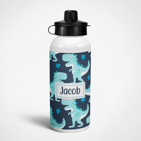 Dinosaur Bottle | Personalised Custom Kids Sports Drinks Bottle
