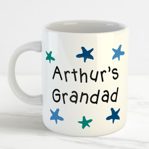 Personalised Grandad Father's Day Mug