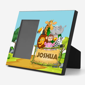 Safari Animals Photo Frame