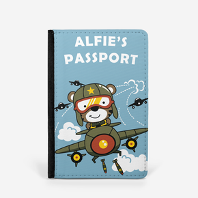 Teddy Bear Pilot Passport