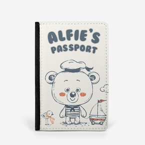 Teddy Bear Sailor Passport