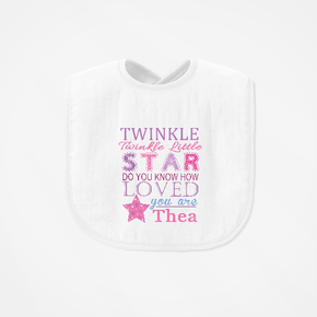 Twinkle Twinkle Little Star Bib