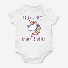 First Magical Birthday Bodysuit