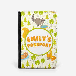 Woodland Animals Passport