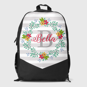 Floral Wreath Backpack