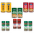 Italian Pizza Oregano, Italian Pizza Chilli, Peri Peri, Oregano, Mixed Herbs and Chilli Flakes Combo - Pack of 12 - KeyaSpices