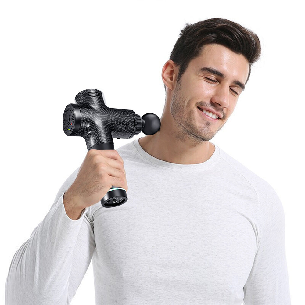 Carbon Fiber Professional Deep Tissue Massager for Muscle | Actinput
