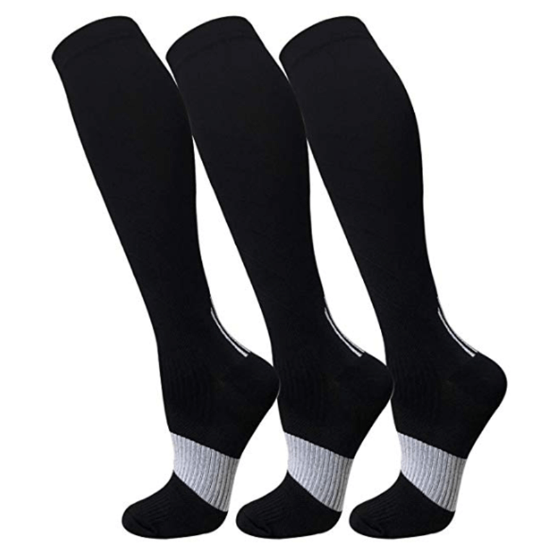 3-Pairs Sports Compression Stockings 20-25 mmHg for Man and Woman-1