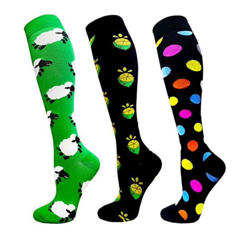 3-Paris Cute Fashionable Compression Socks for Man and Woman -1