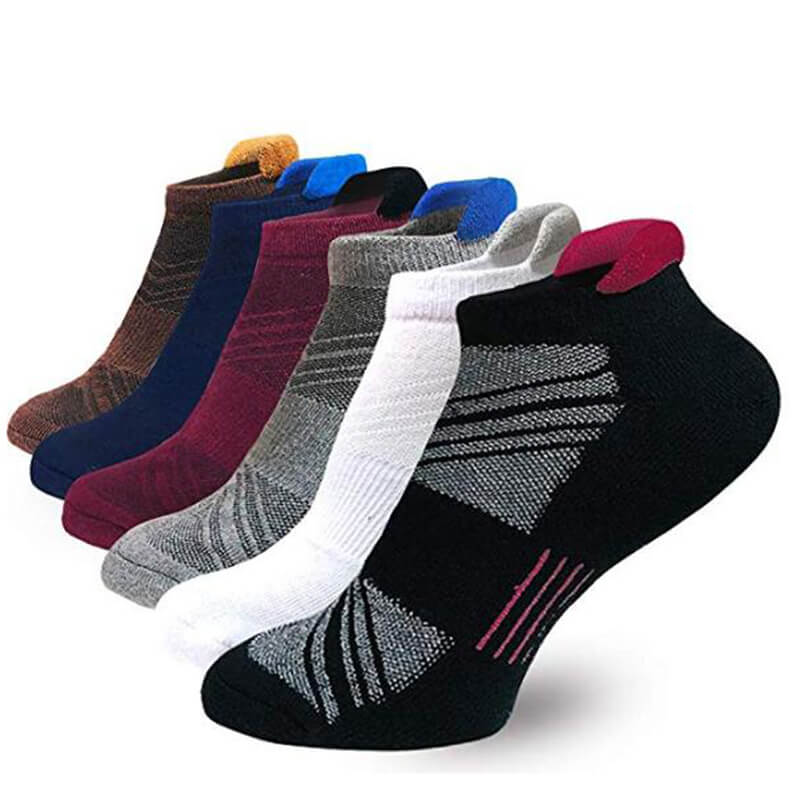 6-Pairs Low Cut Running Sports Comfort Cushioned Tab Socks | Actinput