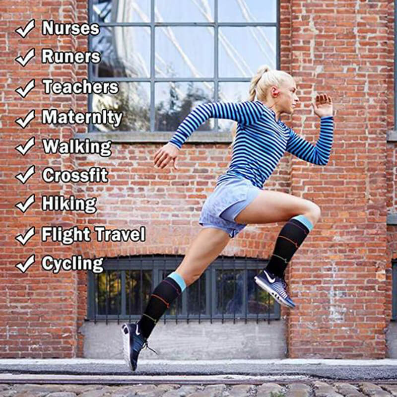 2-Pairs ECG Compression Socks 20-25 mmHg for Man and Woman -2