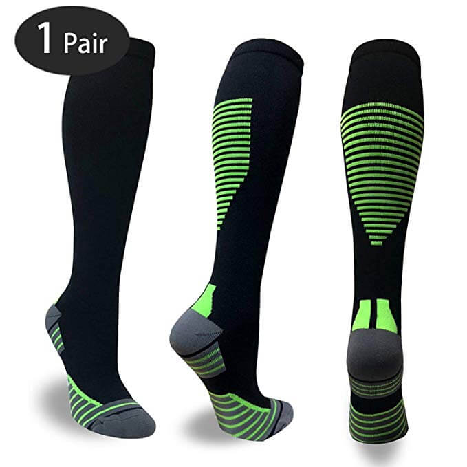 High-Performance Cushion Compression Athletic Socks For Men & Women