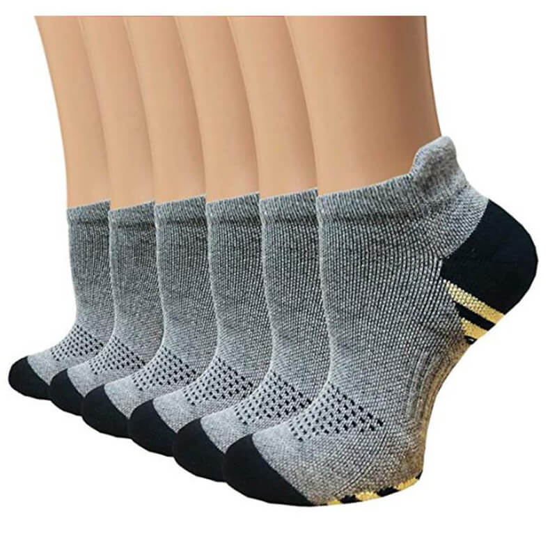 Copper Plantar Fasciitis Running Compression Socks for Men & Women-1