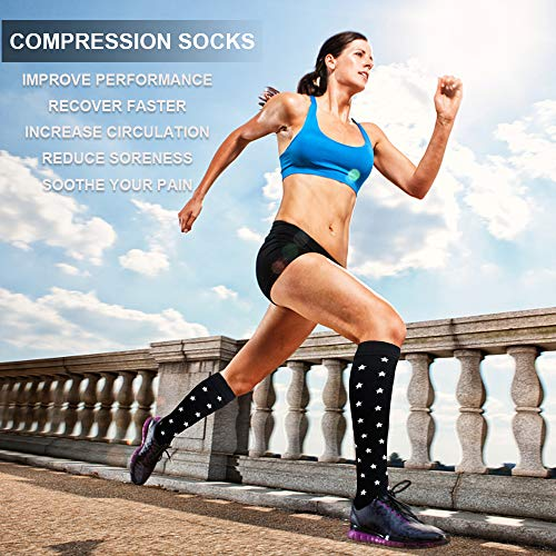 3-Pairs Compression Socks For Men & Women(20-30 mmHG) |Actinput