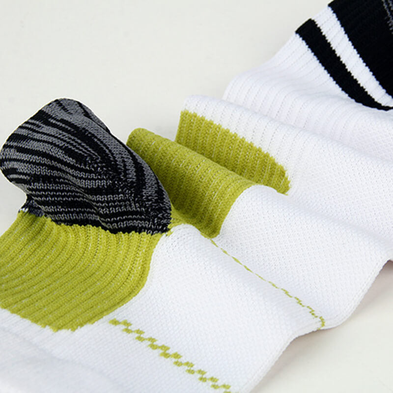 Green Athlete-Plantar Fasciitis Support Ankle Socks