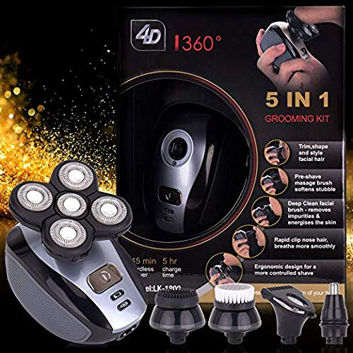 Men's 5-in-1 Electric Shaver  | Actinput