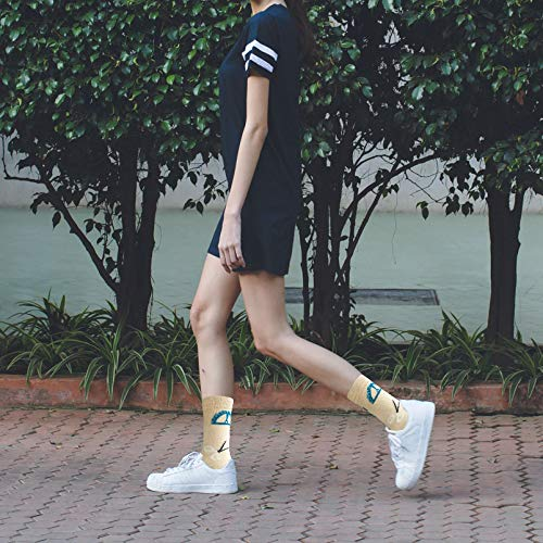 3-Pairs Cool Pattern Cute Funny Crew Women's Socks | Actinput