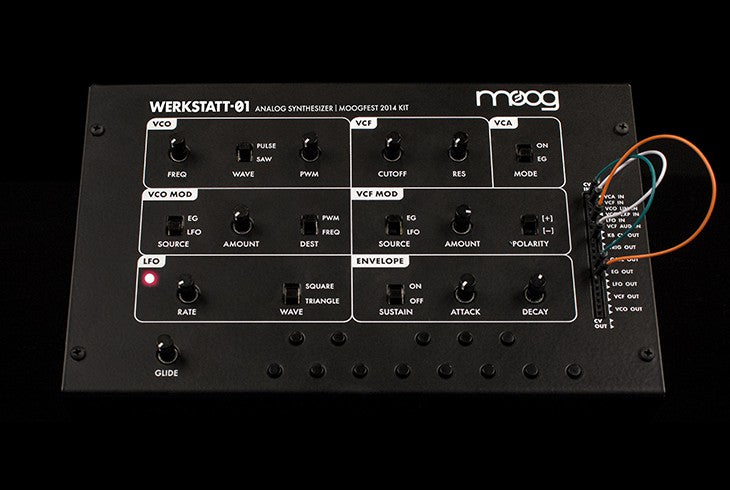 moog werkstatt-01 analog synthesizer kit